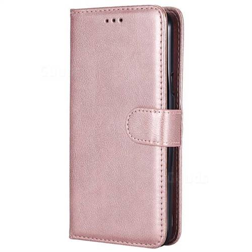 best website 877c4 0b805 Retro Greek Detachable Magnetic PU Leather Wallet Phone Case for Samsung  Galaxy J7 2015 J700 - Rose Gold