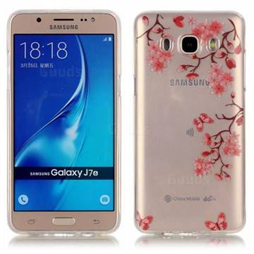 lowest price 8cd17 c62d3 Maple Leaf Super Clear Soft TPU Back Cover for Samsung Galaxy J7 2016 J710