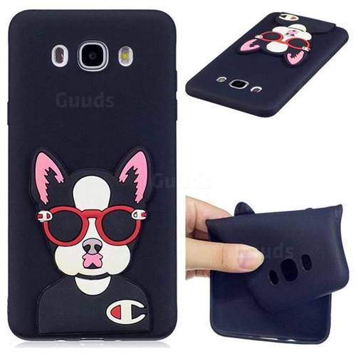 Glasses Gog Soft 3D Silicone Case for Samsung Galaxy J7 2016 J710