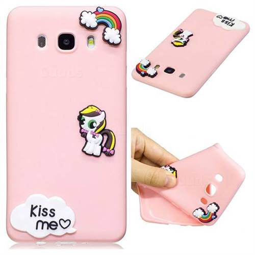 Kiss me Pony Soft 3D Silicone Case for Samsung Galaxy J7 2016 J710
