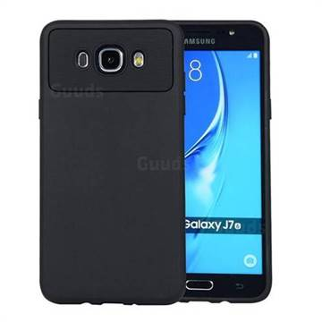 on sale 58d45 775a4 Carapace Soft Back Phone Cover for Samsung Galaxy J7 2016 J710 - Black