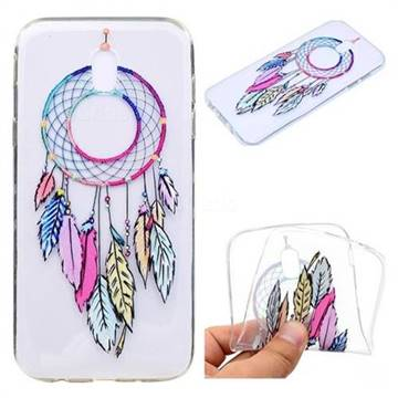 Rainbow Campanula Super Clear Soft TPU Back Cover for Samsung Galaxy J7 2017 J730 Eurasian