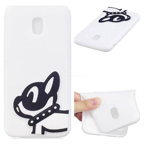 Cute Dog Soft 3D Silicone Case for Samsung Galaxy J7 2017 J730 Eurasian