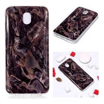 Brown Soft TPU Marble Pattern Phone Case for Samsung Galaxy J7 2017 J730 Eurasian