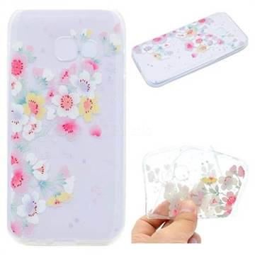 Peach Super Clear Soft TPU Back Cover for Samsung Galaxy J7 Prime G610