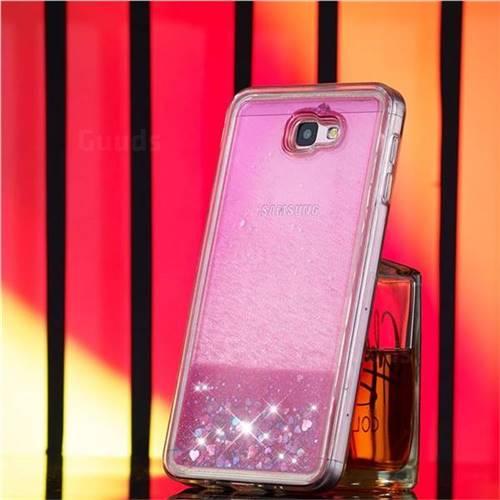 e0df4b3bd8 Dynamic Liquid Glitter Quicksand Sequins TPU Phone Case for Samsung Galaxy  J7 Prime G610 - Rose