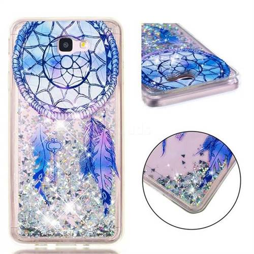 Fantasy Wind Chimes Dynamic Liquid Glitter Quicksand Soft TPU Case for Samsung Galaxy J7 Prime G610
