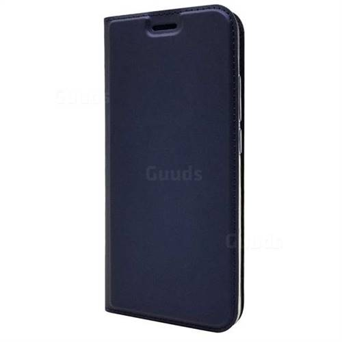 sports shoes d88ab 310d2 Ultra Slim Card Magnetic Automatic Suction Leather Wallet Case for Huawei  Honor 10 - Royal Blue
