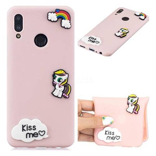 Kiss me Pony Soft 3D Silicone Case for Huawei Honor 10 Lite