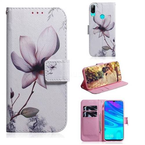 Magnolia Flower PU Leather Wallet Case for Huawei Honor 10 Lite