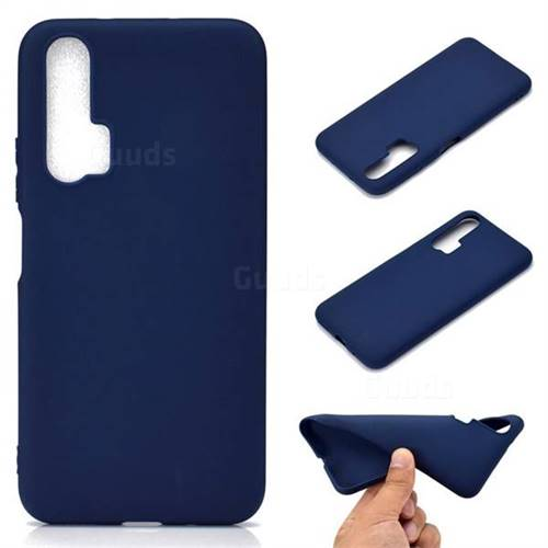 Candy Soft TPU Back Cover for Huawei Honor 20 Pro - Blue
