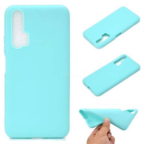 Candy Soft TPU Back Cover for Huawei Honor 20 Pro - Green