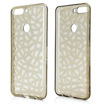 Diamond Pattern Shining Soft TPU Phone Back Cover for Huawei Honor 7C -  Gray - Back Cover - Guuds
