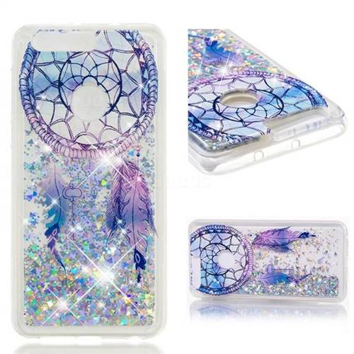 Dynamic Liquid Glitter Quicksand Soft TPU Case for Huawei Honor 8 - Fantasy Wind Chimes