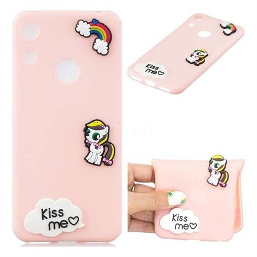 Kiss me Pony Soft 3D Silicone Case for Huawei Honor 8A