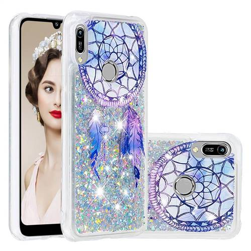 Fantasy Wind Chimes Dynamic Liquid Glitter Quicksand Soft TPU Case for Huawei Honor 8A