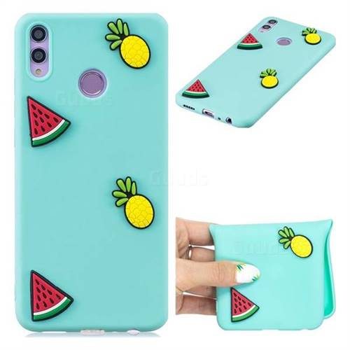Watermelon Pineapple Soft 3D Silicone Case for Huawei Honor 8C