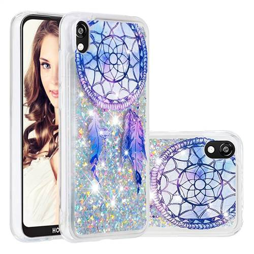 Fantasy Wind Chimes Dynamic Liquid Glitter Quicksand Soft TPU Case for Huawei Honor 8S(2019)