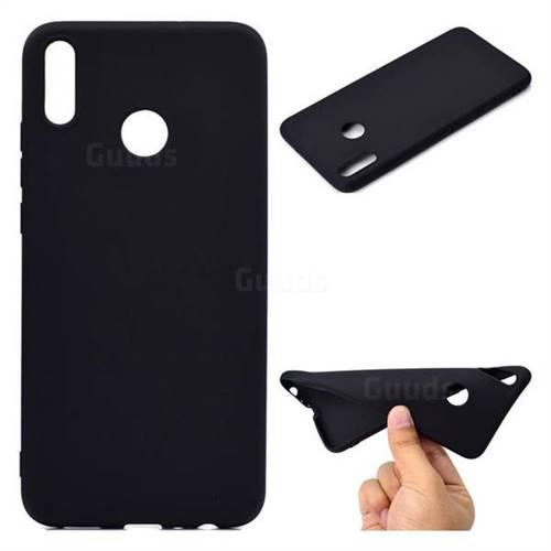 best service d6925 d0c02 Candy Soft TPU Back Cover for Huawei Honor 8X - Black