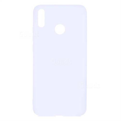 Candy Soft TPU Back Cover for Huawei Honor 8X - White