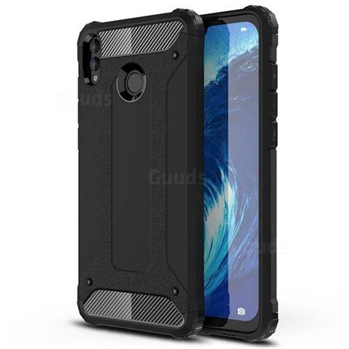 King Kong Armor Premium Shockproof Dual Layer Rugged Hard Cover for Huawei Honor 8X Max(Enjoy Max) - Black Gold