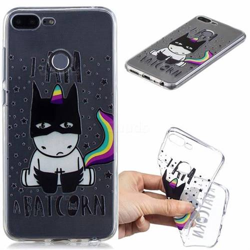 Batman Clear Varnish Soft Phone Back Cover for Huawei Honor 9 Lite