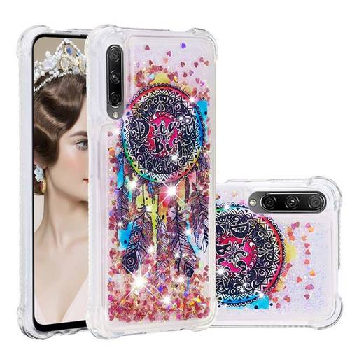 Seal Wind Chimes Dynamic Liquid Glitter Sand Quicksand Star TPU Case for Huawei Honor 9X
