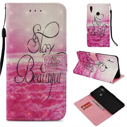Beautiful 3D Painted Leather Wallet Case for Huawei Honor Note 10