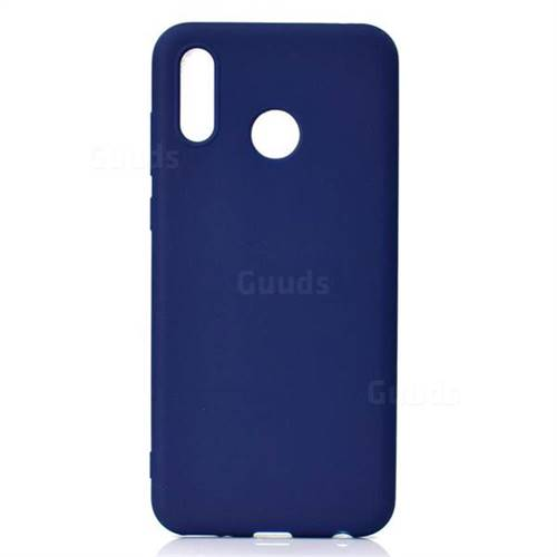 best service 3df64 394d7 Candy Soft TPU Back Cover for Huawei Honor Play(6.3 inch) - Blue