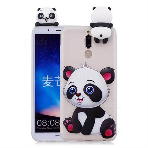 Panda Girl Soft 3D Climbing Doll Soft Case for Huawei Mate 10 Lite / Nova 2i / Horor 9i / G10