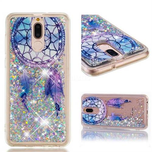Dynamic Liquid Glitter Quicksand Soft TPU Case for Huawei Mate 10 Lite / Nova 2i / Horor 9i / G10 - Fantasy Wind Chimes