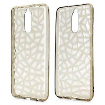 Diamond Pattern Shining Soft TPU Phone Back Cover for Huawei Mate 10 Lite / Nova 2i / Horor 9i / G10 - Gray