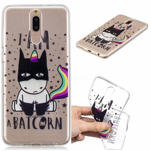 Batman Clear Varnish Soft Phone Back Cover for Huawei Mate 10 Lite / Nova 2i / Horor 9i / G10