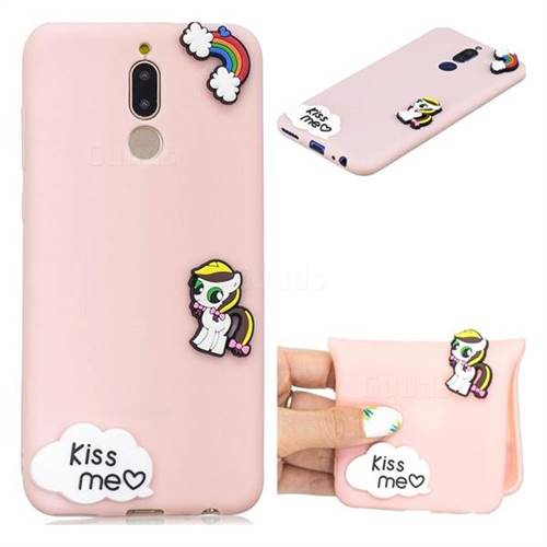 Kiss me Pony Soft 3D Silicone Case for Huawei Mate 10 Lite / Nova 2i / Horor 9i / G10