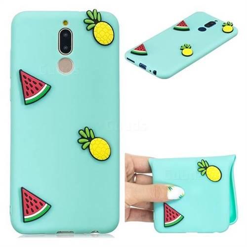 Watermelon Pineapple Soft 3D Silicone Case for Huawei Mate 10 Lite / Nova 2i / Horor 9i / G10