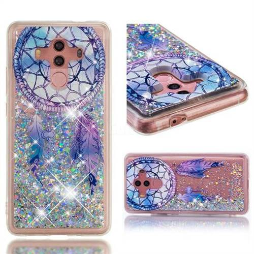 Dynamic Liquid Glitter Quicksand Soft TPU Case for Huawei Mate 10 Pro(6.0 inch) - Fantasy Wind Chimes