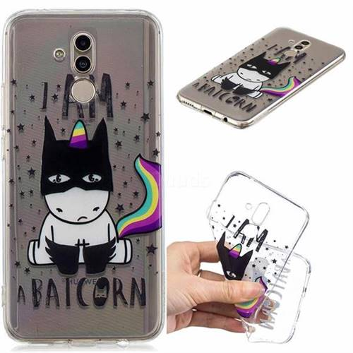 Batman Clear Varnish Soft Phone Back Cover for Huawei Mate 20 Lite