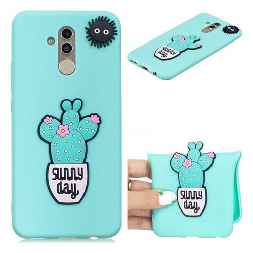 Cactus Flower Soft 3D Silicone Case for Huawei Mate 20 Lite