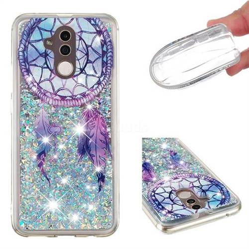 Fantasy Wind Chimes Dynamic Liquid Glitter Quicksand Soft TPU Case for Huawei Mate 20 Lite