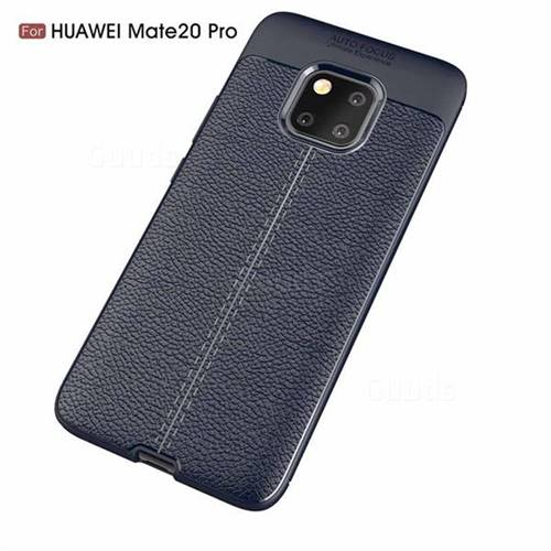Luxury Auto Focus Litchi Texture Silicone Tpu Back Cover For Huawei