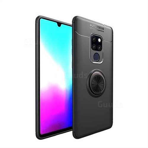 the best attitude e8e87 17f53 Auto Focus Invisible Ring Holder Soft Phone Case for Huawei Mate 20 X -  Black - Huawei Mate 20 X Cases - Guuds