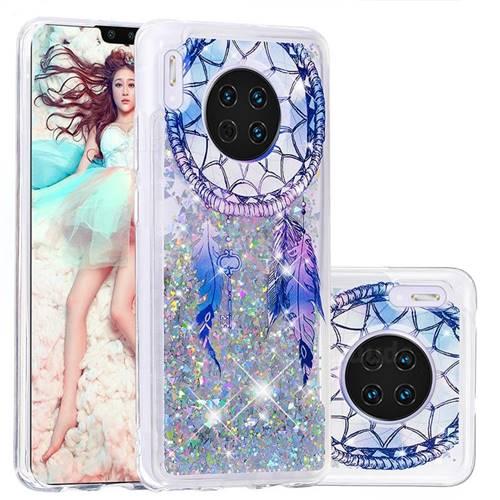 Fantasy Wind Chimes Dynamic Liquid Glitter Quicksand Soft TPU Case for Huawei Mate 30