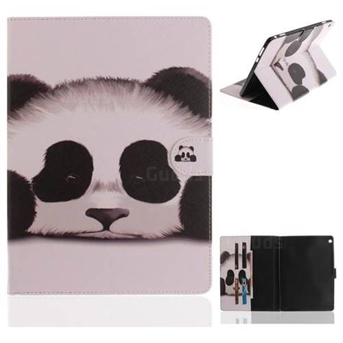 Sleeping Panda Painting Tablet Leather Wallet Flip Cover for Huawei MediaPad M3 Lite 10