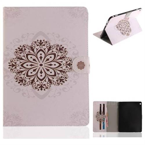 Datura Flowers Painting Tablet Leather Wallet Flip Cover for Huawei MediaPad M3 Lite 10