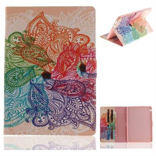 Magic Flower Painting Tablet Leather Wallet Flip Cover for Huawei MediaPad T3 10