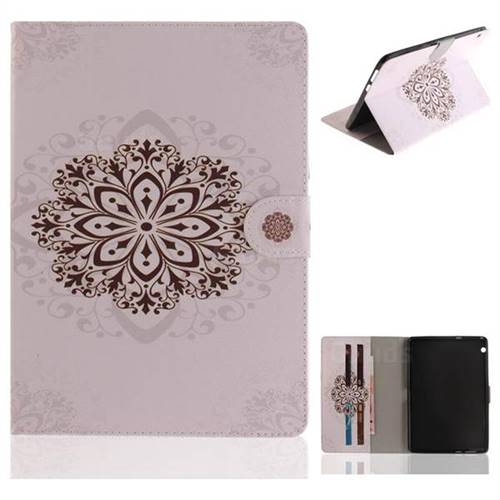 Datura Flowers Painting Tablet Leather Wallet Flip Cover for Huawei MediaPad T3 10
