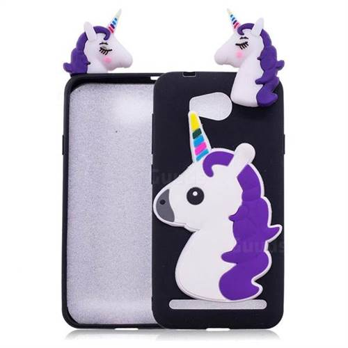 Unicorn Soft 3D Silicone Case for Huawei Y3II Y3 2 Honor Bee 2 - Black