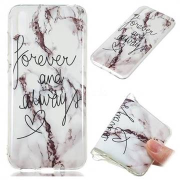Forever Soft TPU Marble Pattern Phone Case for Huawei Y5 (2019)