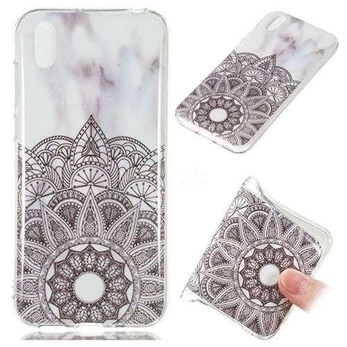 Mandala Soft TPU Marble Pattern Case for Huawei Y5 (2019)
