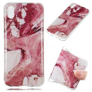 Pork Belly Soft TPU Marble Pattern Phone Case for Huawei Y5 (2019)